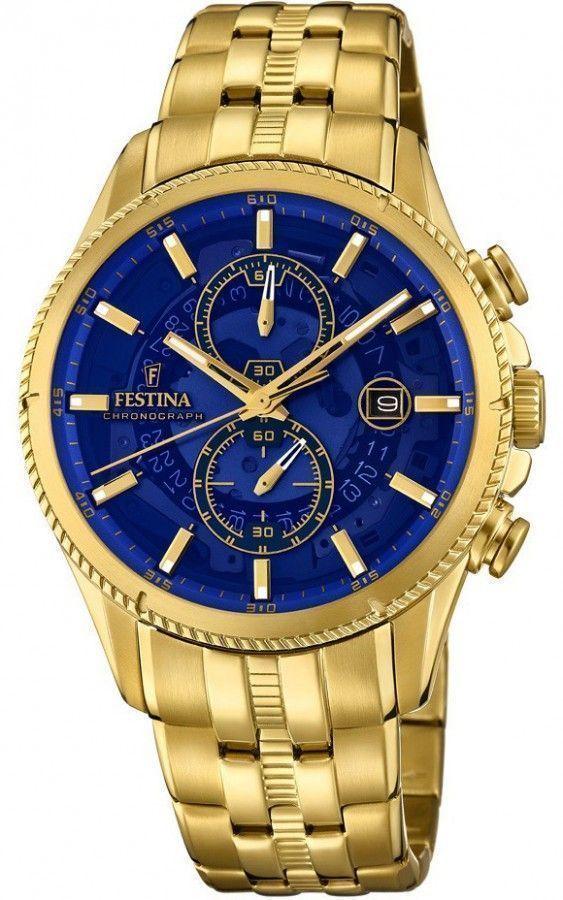 reloj hombre bañado en oro