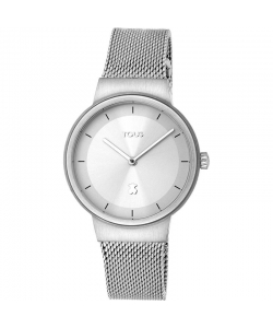 Tous Watch 000351505 Rond Silver