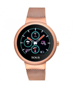 Reloj Tous 000351650 Activity Round Touch Rosado