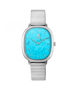 Tous Watch 351655 Heritage Gems Silver Turquoise