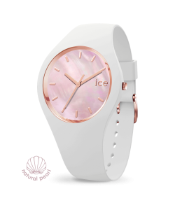 Ice Watch Pearl 017126 White Pink Size M