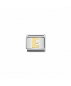 Composable Classic Link 030101 05 Letter E in 18K Gold