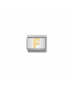 Composable Classic Link 030101 06 Letter F in 18K Gold
