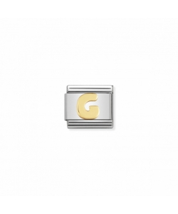 Composable Classic Link 030101 07 Letter G in 18K Gold