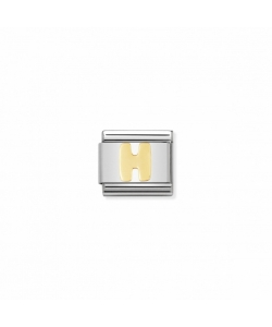 Composable Classic Link 030101 08 Letter H in 18K Gold