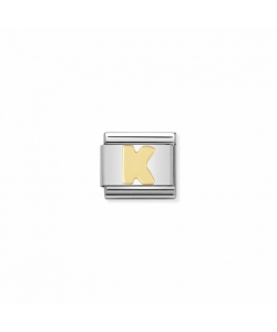 Composable Classic Link 030101 11 Letter K in 18K Gold