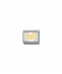 Composable Classic Link 030101 13 Letter M in 18K Gold