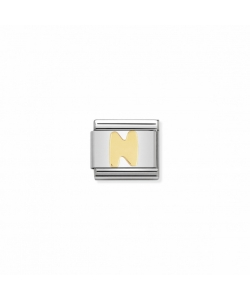 Composable Classic Link 030101 14 Letter N in 18K Gold