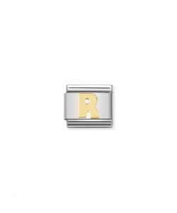 Composable Classic Link 030101 18 Letter R in 18K Gold