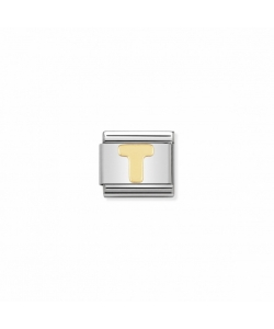 Composable Classic Link 030101 20 Letter T in 18K Gold