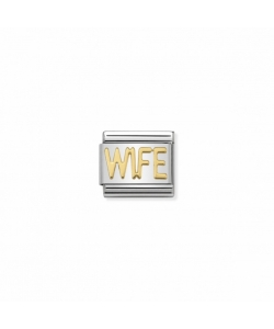 Composable Classic Link 030107 23 WIFE in 18K Gold