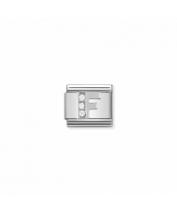 Composable Classic Link 330301 06 Letter F in Silver and Sto