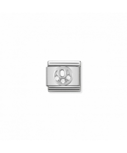 Composable Classic Link 330301 15 Letter O in Silver and Sto