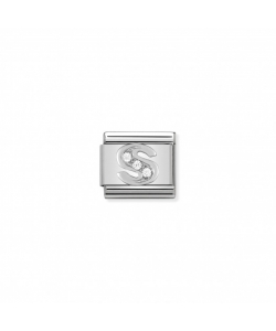 Composable Classic Link 330301 19 Letter S in Silver and Sto