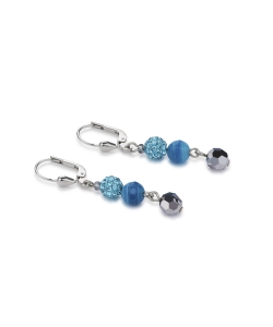 Coeur De Lion Earrings 4895200600 Blue