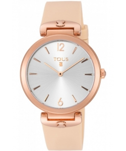 Tous Watch 800350850 S-Mesh Silicone Nude