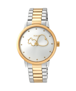 Tous Watch 900350310 Bear Time Two-Tones