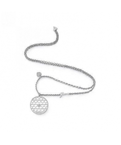 Guess Necklace UBN85016 Jamila Silver