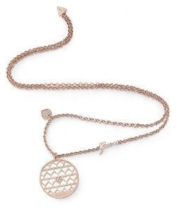 Guess Necklace UBN85018 Jamila Rosé