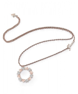 Guess Necklace UBN85049 Bouquet Rosé