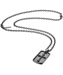 Police Necklace S14AJH01P Knights Gents