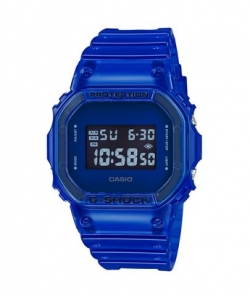 G-Shock Watch DW-5600SB-2ER Blue Transparent