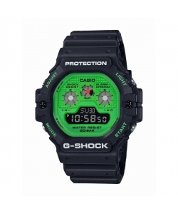 G-Shock Watch DW-5900RS-1ER Black Green