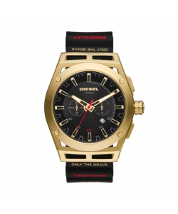 Diesel Watch DZ4546 Timeframe Black Gold