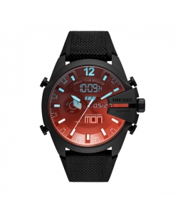 Diesel Watch DZ4548 Mega Chief Ana Digi Black