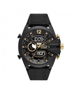 Diesel Watch DZ4552 Mega Chief Ana Digital Black