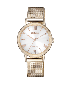 Citizen Watch EM0576-80A Eco Drive Golden