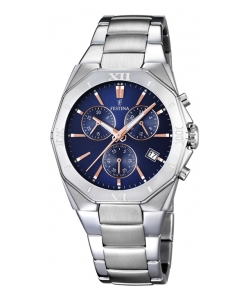 Festina Watch F16757/6 Silver Outlet