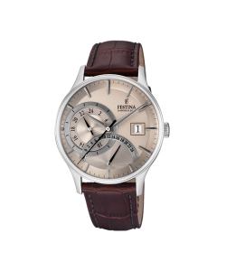 Festina Watch F16983/2 Brown Leather