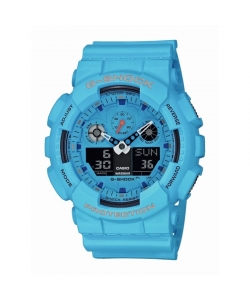 G-Shock Watch GA-100RS-2AER Blue Colours