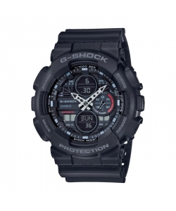 G-Shock Watch GA-140-1A1ER Classic Black