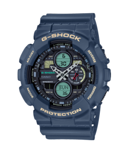 G-Shock Watch GA-140-2AER Essentials Blue