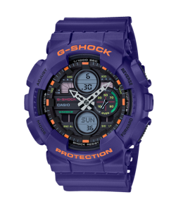 G-Shock Watch GA-140-6AER Essentials Purple