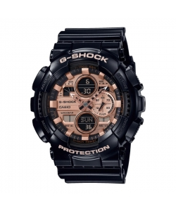 G-Shock Watch GA-140GB-1A2ER Black Rosé