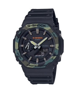 G-Shock Watch GA-2100SU-1AER Black Camuflage