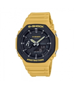 G-Shock Watch GA-2110SU-9AER Yellow
