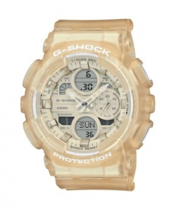 G-Shock Watch GMA-S140NC-7AER Semitransparent