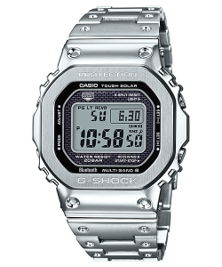 Casio G-Shock Watch GMW-B5000D-1ER Bluetooth Silver