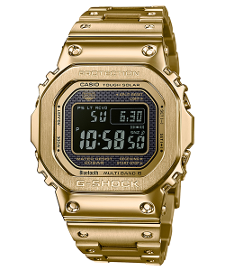 Casio G-Shock Watch GMW-B5000GD-9ER Bluetooth Dorado