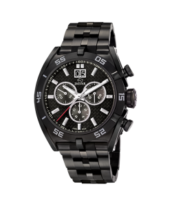 Jaguar Watch J656/2 Special Edition Gents Black Steel