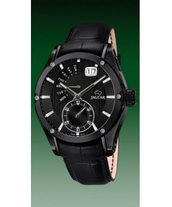 Jaguar Watch J681/A Special Edition Black Leather