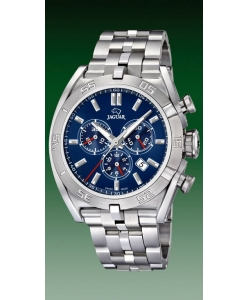 Jaguar Watch J852/3 Executive Silver Blue Dial