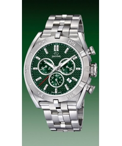 Jaguar Watch J852/5 Executive Silver Green Dial