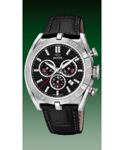 Jaguar Watch J857/4 Executive Leather Black Dial