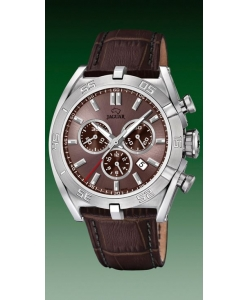 Jaguar Watch J857/6 Executive Brown Leather
