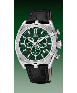 Jaguar Watch J857/7 Executive Leather Green Dial